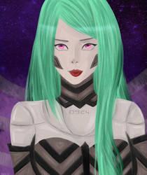 Cyborg by Minatsukii