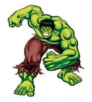 Incredible hulk Animated by Simon-Williams-Art