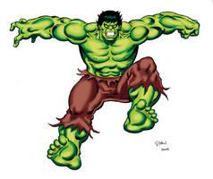 More Incredible Hulk Animated by Simon-Williams-Art