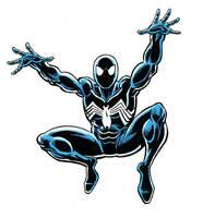 Symbiote Spider-man by Simon-Williams-Art