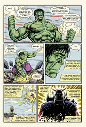 Hulk vs Death's Head page - UPDATED by Simon-Williams-Art
