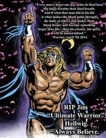 Ultimate Warrior - tribute by Simon-Williams-Art