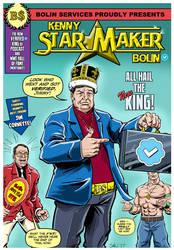 Kenny StarMaker Bolin by Simon-Williams-Art