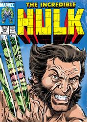 Incredible Hulk no.340 Homage by Simon-Williams-Art