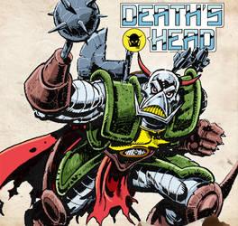 Death's Head Sketch by Simon-Williams-Art