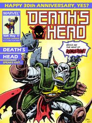 Death's Head 30th Anniversary by Simon-Williams-Art