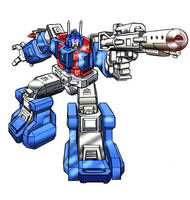 Ultra Magnus by Simon-Williams-Art