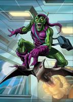 The Green Goblin by Simon-Williams-Art