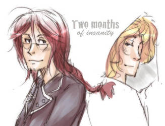 HP - Two months by karaii