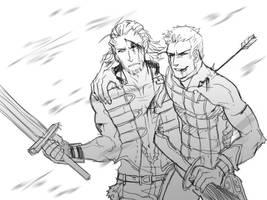FFXII - Battle by karaii