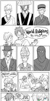 School - World Religions Final by karaii