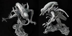 Xenomorph Titan 010 by Apikit