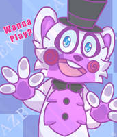 Wanna Play? -Helpy- by FuntimeRobotics