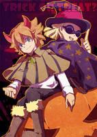trick or treat by nikumaru127