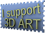 I Support 3D Art Stamp by BenTheFobbix