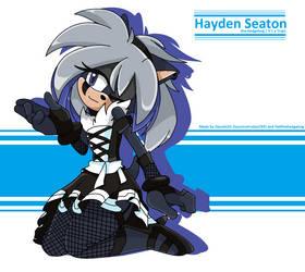 [Collab] Hayden Seaton.... ..again! by SoraIroDJ