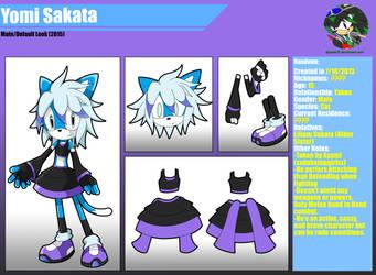 Yomi Sakata Reference by SoraIroDJ