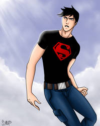 Young Justice -Superboy- by UnseenChaser
