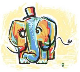 Mr Oliphant by pinkoliphant