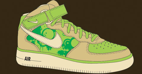 Rprsnt St. Patty's Nike Remix by rawmade