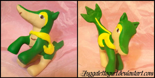 Snivy Pony by JuggalettaGurl