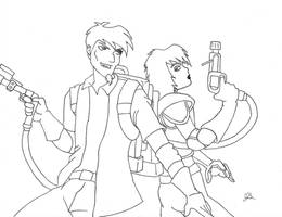 Request, Extreme Ghostbusters by dragon-kun15