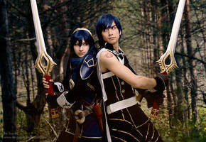 Fire Emblem - Lucina and Chrom by Rei-Suzuki