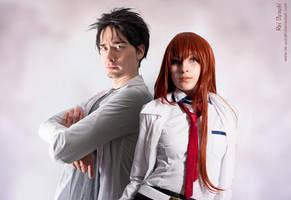 Steins Gate - Genius Couple by Rei-Suzuki