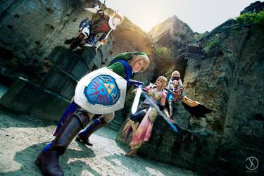 Hyrule Warriors - We are Ready! by Rei-Suzuki