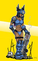 Quake Arena Character. by Jamz671