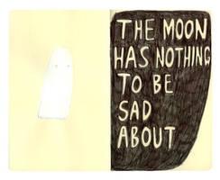 Ghost vs moon by honeymoonspiders