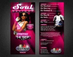 Soul Delight Flyer 3 by kejdi