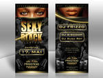 Sexy Black Party Flyer by kejdi