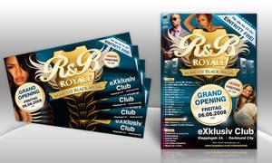 RnB Royale Flyer by kejdi