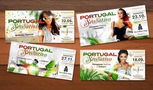 Portugal Sensation Flyer by kejdi