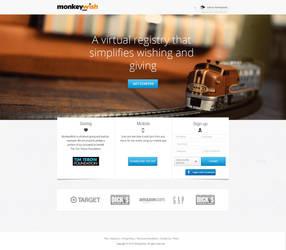 Monkeywish web design. by RasonDesign