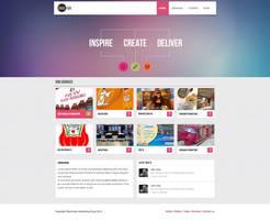 Black Rock Marketing web design by RasonDesign