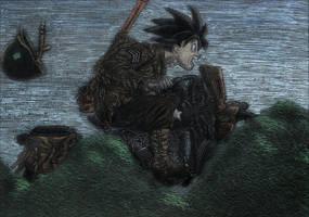 Goku Militar by camlost