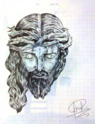 Cristo sufriente by J-S-S-C