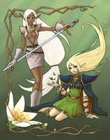 Record of Lodoss War by sketchtastrophe