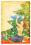 First Christmas by LilyRedHaired