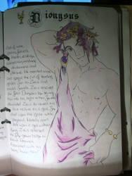 Dionysus by svartlila