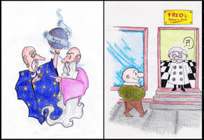 Limericks: Logos - The Barber's Shop by MademoiselleWillow