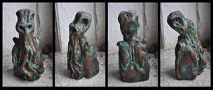 CTHULHU IDOL attributed to MALCOLM B HODGE by mortonskull