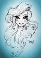 Disney Princess Ariel by darkodordevic