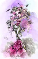 Monster royalty, Draculaura by darkodordevic