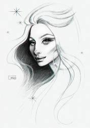 Barbra Streisand by darkodordevic