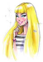Happy Birthday Barbie by darkodordevic