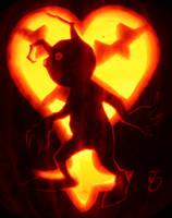 Shadow Heartless Pumpkin by johwee