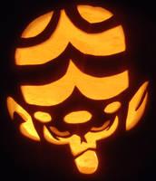 Mojo Jojo Pumpkin by johwee